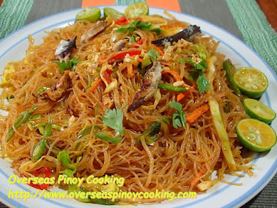 Pansit Bihon with Tinapa