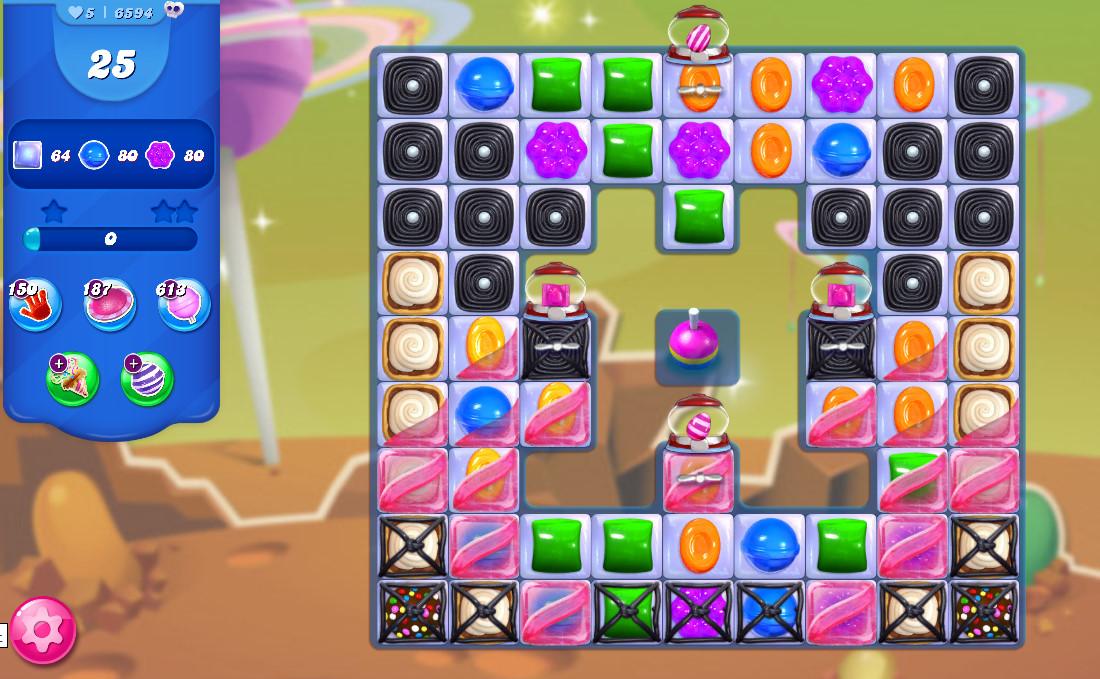 Candy Crush Saga level 6594