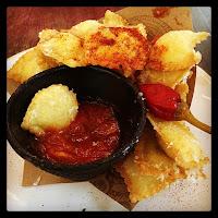 jamie's italian starter - italian nachos