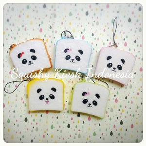 Mini Panda Toast Squishy
