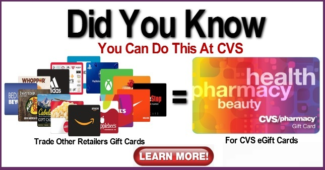 How to Trade in Gift Cards at CVS