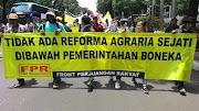 Reforma Agraria Jokowi-JK Tidak Menghapuskan Monopoli dan Perampasan Tanah