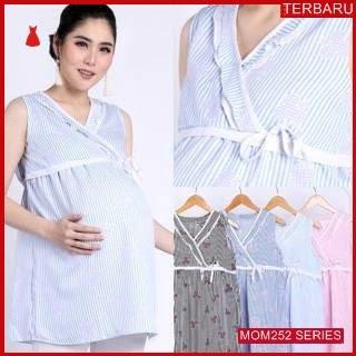 MOM252B15 Baju Atasan Hamil Lavia Menyusui Bajuhamil Ibu Hamil