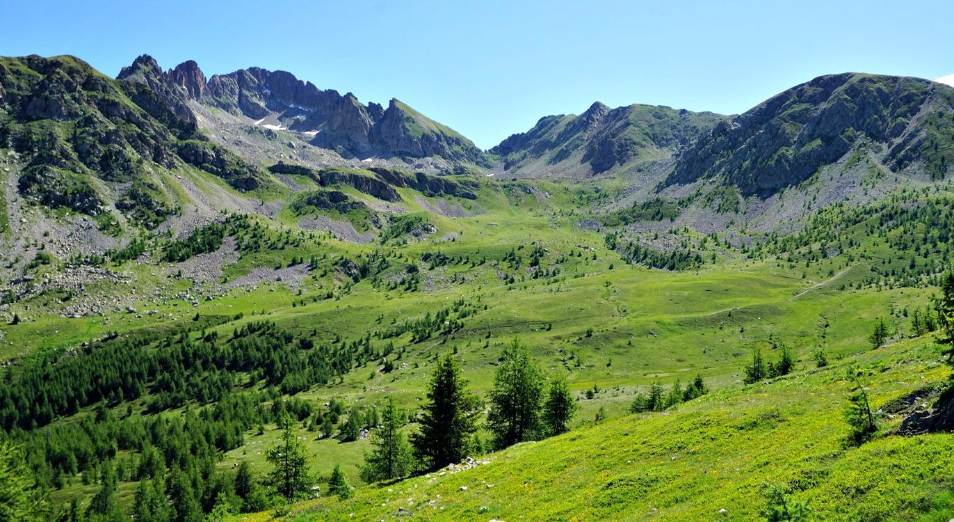 Mont Neiglier(left) and Plan de Prals