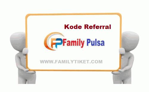 Kode Referral Family Pulsa Untuk Mendapatkan Harga Pulsa Termurah Untuk Master Dealer
