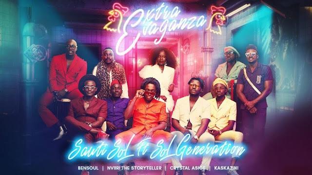 Sauti Sol Ft. Bensoul Nviiri the Storyteller x Crystal Asige & Kaskazini - Extravaganza