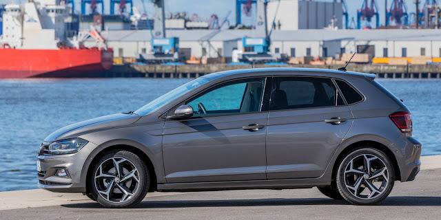 Novo VW Polo 2018 - cinza