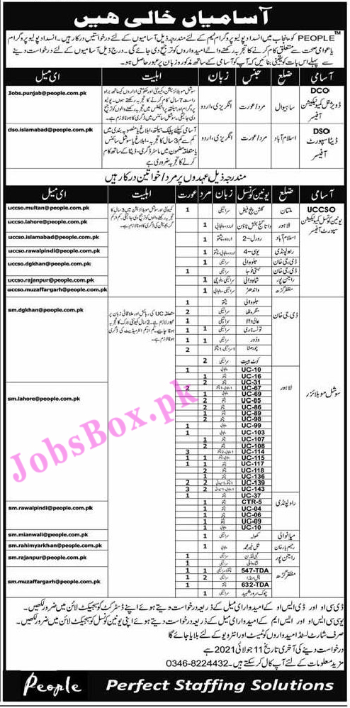 People Punjab Polio Eradication Program Jobs 2021 in Pakistan
