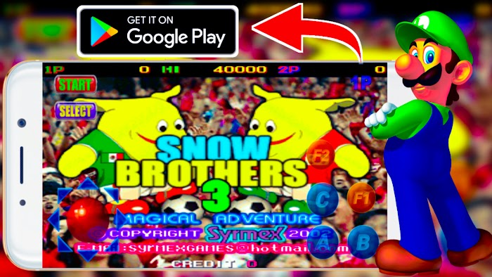 Snow bros 3 Game APP
