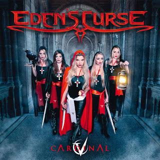"""Το lyric video των Eden's Curse για το τραγούδι """"The Great Pretender"""" από τον δίσκο """"Cardinal"""""""