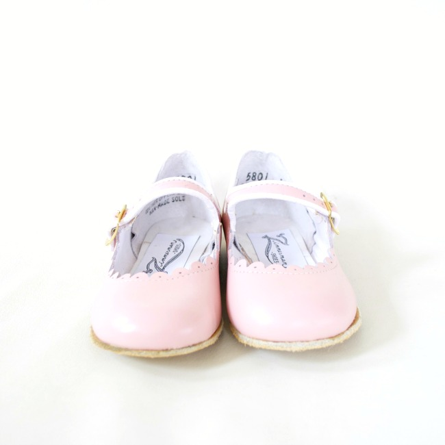 pink mary janes for little girls