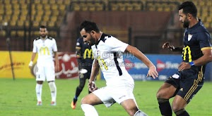 الانتاج الحربي يفوز على فريق حرس الحدود ويصل للمركز الخامسه في الدوري المصري