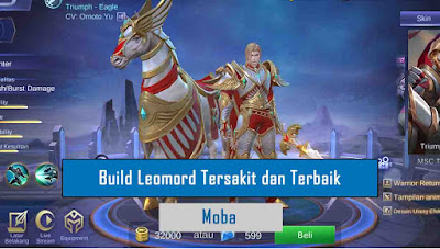 Build Leomord Mobile legends Paling Sakit dan terbaik