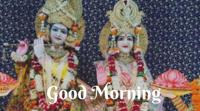 radhe krishna good morning images download
