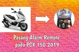 Tutorial Pasang Alarm Remote pada PCX 150 2019