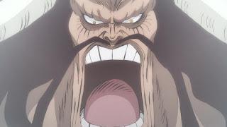 ワンピースアニメ 993話 ワノ国編   ONE PIECE 四皇 百獣のカイドウ KAIDO