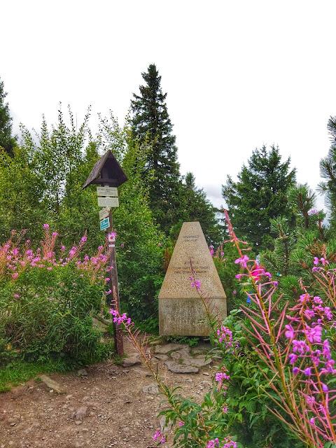 Orlica wznosi się na wysokość 1084 m n.p.m.