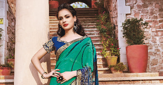 START OWN HOME BUSINESS WITH GEORGETTE SAREES