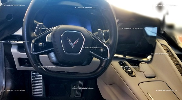 Filtración del interior del Chevrolet Corvette C8