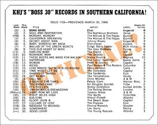 KHJ Boss 30 No. 39 - March 30, 1966
