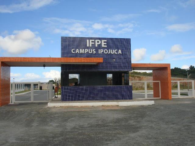 IFPE Ipojuca oferece 252 vagas em processo de ingresso