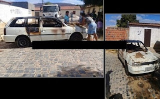 Criança coloca fogo no carro do pai acidentalmente no Sudoeste da Bahia