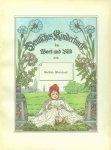 Mathilde Wesendonck: Deutsches Kinderbuch in Wort und Bild. Alte und neue Kinder-Lieder und Reime. 1890