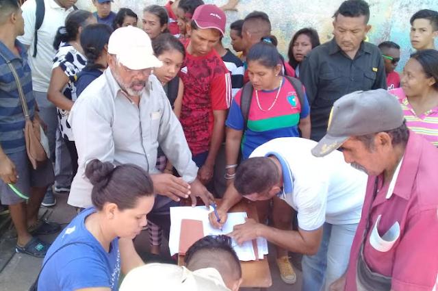 Organización política recolecta firmas para revocar a gobernantes de Amazonas