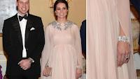 Kate Middleton, che principessa con i gioielli della suocera!