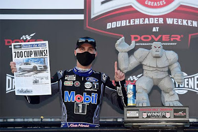 Kevin Harvick swept the Dover Drydene 311 Sunday by sweeping the stages and winning his seventh race of the year.