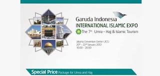 Garuda Indonesia International Islamic Expo 2012