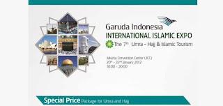Garuda Indonesia International Islamic Expo 2012
