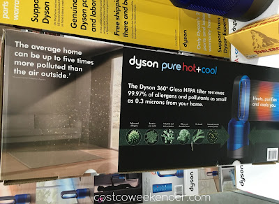 Dyson Pure Hot + Cool Link Purifier - purifies air from pollutants