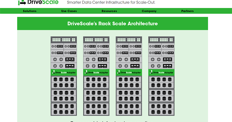 Drivescale unveils its composable rack scale out for Architecture t scale