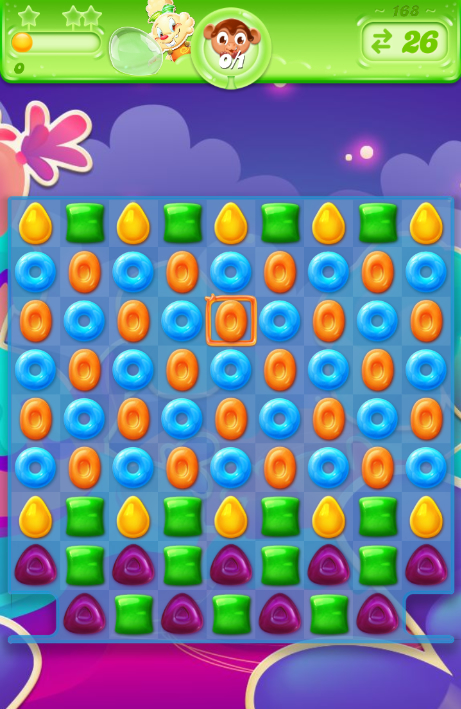 Candy Crush Jelly Saga 168