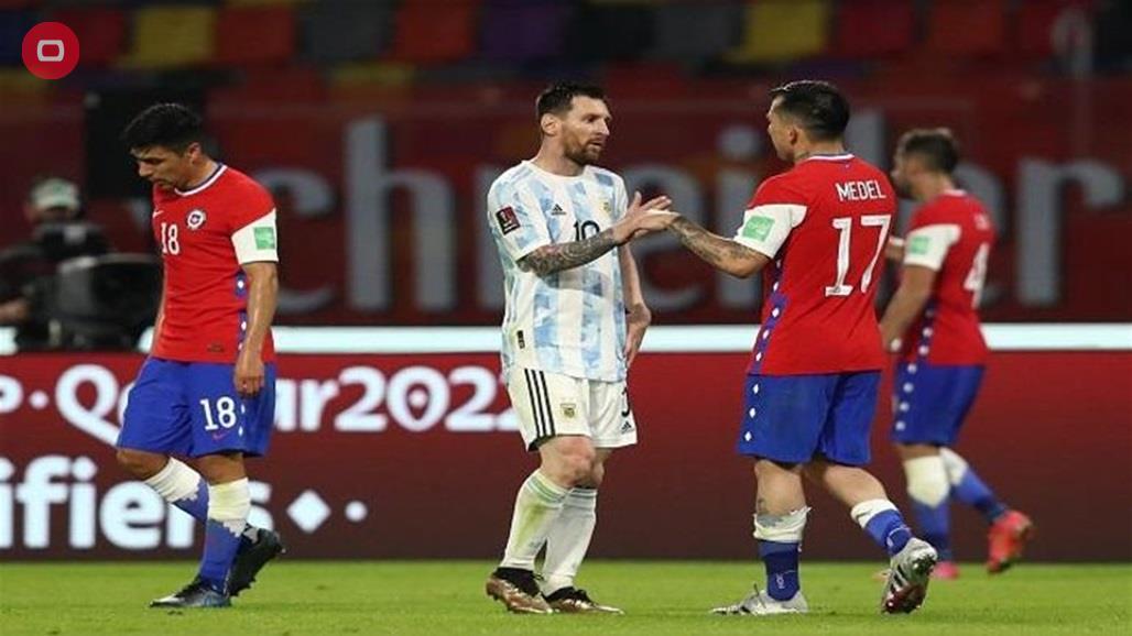 موعد مباراة الارجنتين وتشيلي في كوبا امريكا 2021