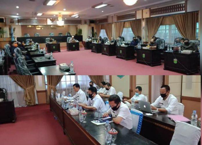 Serius Menangani Covid-19, DPRD Sungai Penuh Hearing Dengan TAPD dan Gugus Tugas