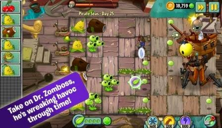Free Download Plants vs. Zombies 2 MOD APK v5.9.1 Latest Upate new Version 2017
