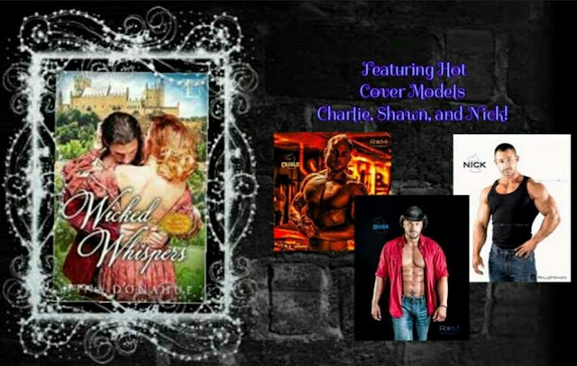 Join me and HOT cover models on May 24 – Wicked Whispers FB Release Party #HotModels #FBParty