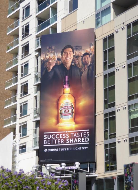 Javier Bardem Chivas billboard