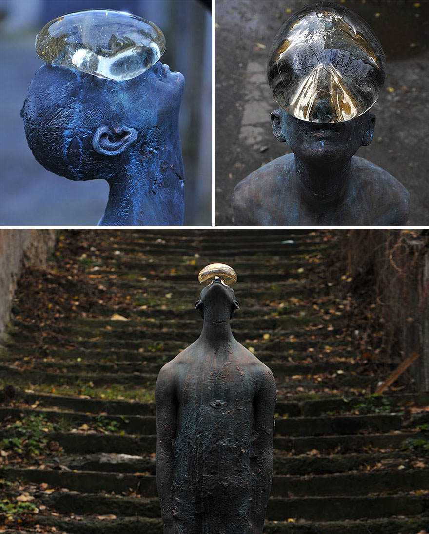 42 Of The Most Beautiful Sculptures In The World - Raindrop By Nazar Bilyk, Ukraine