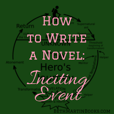 How to Write a Novel Inciting Event