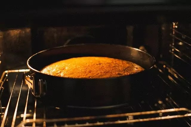 Eggless Chocolate Caramel Cake recipe.