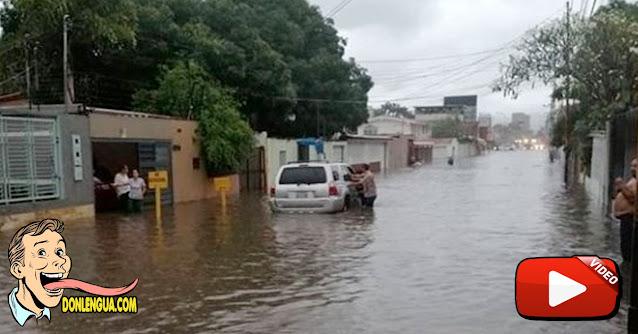 Barquisimeto bajo las aguas y no hay Narco-Dictador ni Interino que los ayude