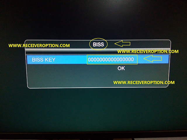 ECHOLINK 570 2018 HD RECEIVER BISS KEY OPTION