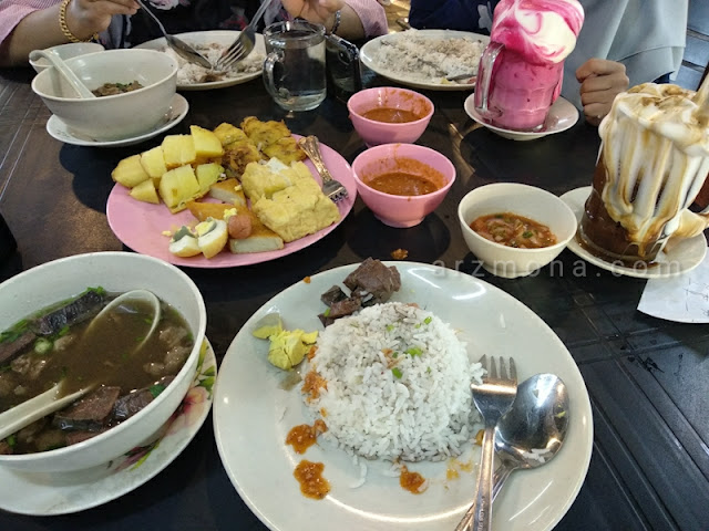 set nasi along bihun sup marvelous, tempat makan best di sungai petani,