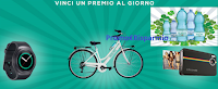 Logo Concorso Smeraldina e vinci City Bike, Polaroid e Smartwatch