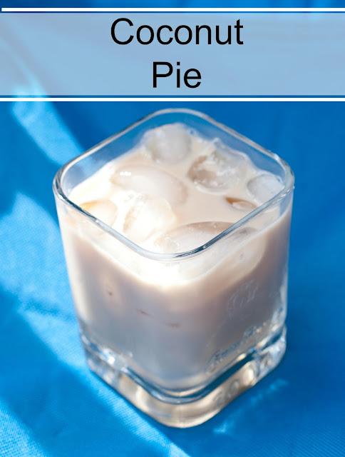 coconut pie cocktail, malibu rum, coconut rum, kahlua, milk, coconut pie recipe, coconut pie picture, coconut pie photo, coconut pie image