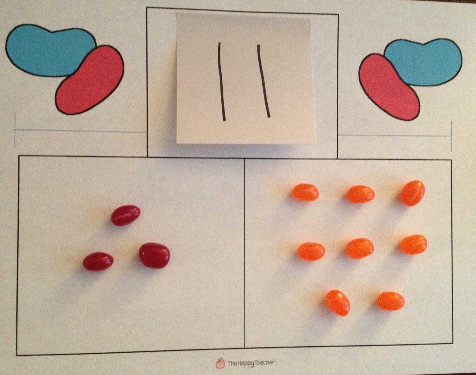 Thehappyteacher Jelly Bean Math Addition