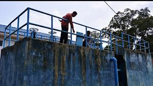 Luapan Sungai Batanghari Berdampak Terhadap Pengelolaan Penjernihan PDAM Muarojambi